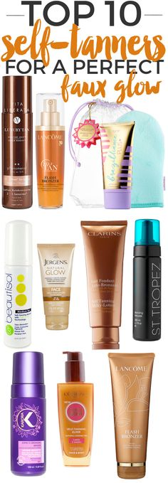 4dc2df6e89a405 Top 10 Self-Tanners for a Perfect Faux Glow.