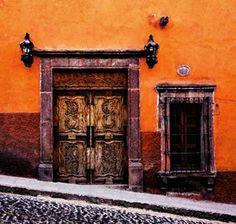 Door in San Miguel de Allende, Mexico