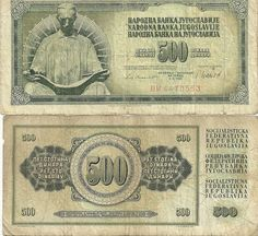 Tito's Yugoslavia banknotes. Free shipping worldwide. Price: $20.