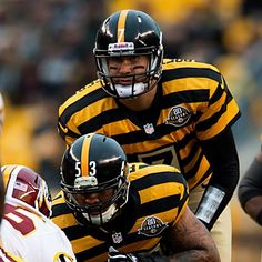 cab58d6a8 Ben Roethlisberger and Maurkice Pouncey