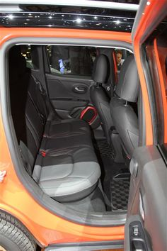 Back seats - 2015 Jeep Renegade