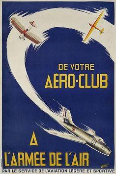 M. BRAULT De votre aéroclub à l'armée de l'air, vers 1950 aux enchères