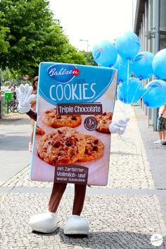 Die süße Cookie-Schachtel in Berlin. #Bahlsen #SweetOnStreets #LifeIsSweet #Berlin