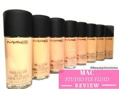 MAC Studio Fix Fluid spf 15 Review