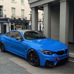 Intense Blue M4 Follow @BeverlyHillsCarClub for amazing classic cars every day. @BeverlyHillsCarClub @BeverlyHillsCarClub Pic by @famziiofficial #BMW #M4 #CarsWithoutLimits