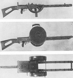 WWI era Gast 13 machine gun (Germany). Fire rate of up to 1600 rounds per minute.