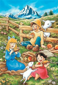 Heidi Girl Of The Alps 1974 Eng Subs 43 1080p Youtube