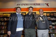 Raoul Bova promotes Capitano Ultimo Le ali del falco in Rome