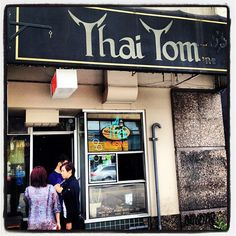 Thai Tom in Seattle, WA. VERY small!! Food is phenomenal! Worth squishing in.  Or go at off-time or get take-out.  University District (U District) near U of W