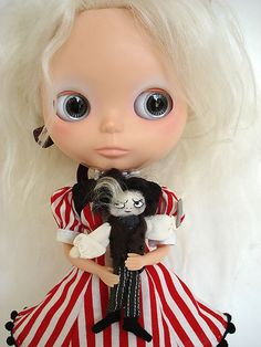 Lily and her Johnny Depp inspired doll