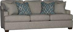 Mayo Furniture 5300 Fabric Sofa Desiree Mushroom