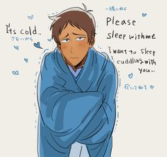 I'll cradle you in my arms Lance! Come to Mama~
