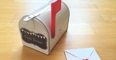Materialwiese: Kleine Mailbox für Lehrerpost