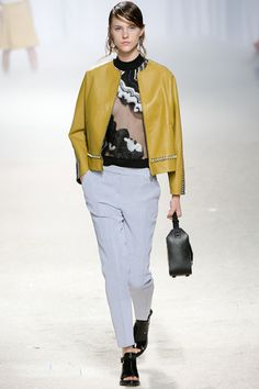 Love the pants  3.1 Phillip Lim Spring 2014 Ready-to-Wear Collection Slideshow on Style.com