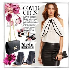 """shein 5"" by woman-1979 ❤ liked on Polyvore featuring Smashbox and Chanel"
