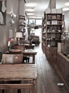 #Parquet en #Restaurantes y #Bares www.decorgreen.es