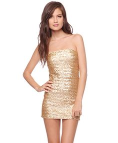 fitted sequined dress $25 f21