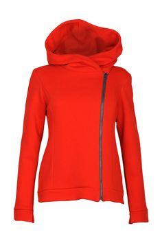 www.adatyte.com / #jumper #hoodie #woman #womenswear #clothes #adatyte #red