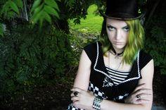 Fantasy photo shoot, New Orleans. Model, Siffa Scary.