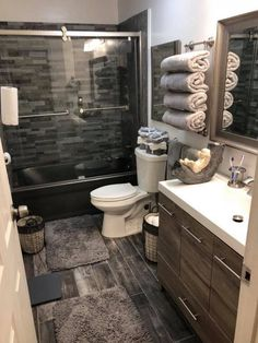 amazing cottage bathroom design ideas - page 8 ~ Modern House Design Cottage Bathroom Design Ideas, Bathroom Interior Design, Bathroom Inspiration, Bathroom Designs, Apartment Bathroom Design, Simple Apartment Decor, Dorm Room Designs, Modern Bathroom Design, Dream Bathrooms