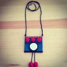 Collar largo Made in Rajani Shop. Venta en Facebook Rajani Shop.
