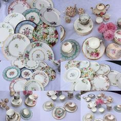 Cake Stand Paradise | Cake Stand Paradise - vintage cake stands and tea sets