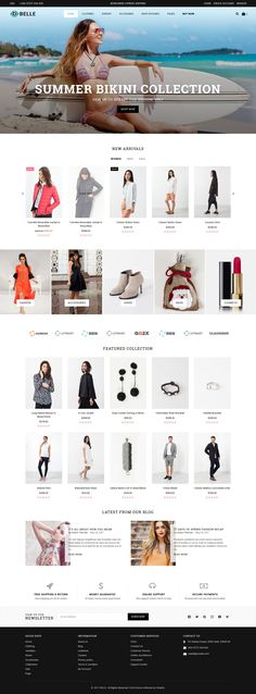 Belle – Responsive Shopify Theme with clean & modern design for your online fashion store and other web shop. Belle is fully responsive to looks perfect on all types of screens and devices. Belle is a perfect fit for various types of eCommerce shopping online website such as Fashion, Clothes, Men Fashion, Women Fashion, Kids Fashion, Accessories, Jewelries, Shoes and many more…  https://themeforest.net/item/belle-clothing-and-fashion-shopify-theme/19990270?s_rank=1