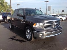 New 2017 Ram 1500 Big Horn Truck Crew Cab Elkhart  This Ram won't be on the lot long!   Very clean and very well priced! The following features are included: a leather steering wheel, a built-in garage door transmitter, and much more. Under the hood you'll find an 8 cylinder engine with more than 350 horsepower, and for added security, dynamic Stability Control supplements the drivetrain. Four wheel drive allows you to go places you've only imagined.
