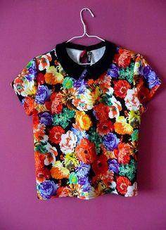 Kup mój przedmiot na #vintedpl http://www.vinted.pl/damska-odziez/bluzki-z-krotkimi-rekawami/10891135-quiz-s-m-l-bluzka-pensjonarka-z-kolnierzykiem-kwiaty-kwiatki-floral-jesienna-sliczna-koszula-piekna
