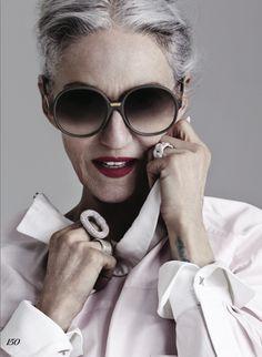 "kathi z management: GABOR JURINA shoots the flawless Linda Rodin for ""White…"
