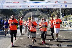 Runners in the Rome Half marathon Runners in the Rome Half marathon on the 1st of March 2015, Italy. Photo taken on: March 01st, 2015  © Morgan Capasso