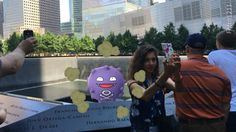 """The viral cellphone game Pokémon Go crossed the line Tuesday — with a """"poison gas"""" character popping up Tuesday at New York's 9/11 Memorial and Washington's Holocaust Museum. Koffing, a levitating …"""