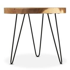 Side Tables For Sale Online and in Store - South Africa | @home Modern Industrial, Industrial Design, Side Tables For Sale, Courier Collection, Fashion Forms, Stool, South Africa, Furniture, Beach