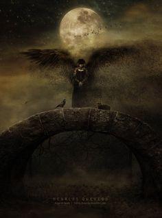 ☆ Angel of Death :¦: By Artist Carlos Quevedo ☆