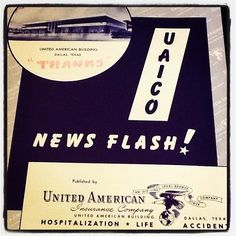 #ThrowbackThursday! We're taking it way back to 1956 this week with United American!