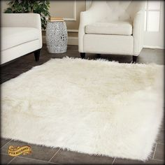by FUR ACCENTS llc Quality Premium Faux Fur Rugs - Plush Throw Blankets and Luxurious Fur Bedding   Made with Pride in the USA (Not imported like most