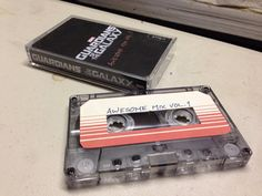 Guardians of the Galaxy Awesome Mix Vol. 1 cassette tape
