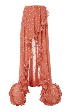 Adelle Maxi Skirt by CAROLINE CONSTAS for Preorder on Moda Operandi