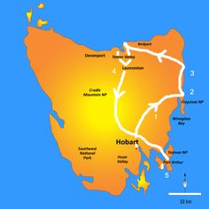 A Very Unplanned 5 Day Tasmania Roadtrip Tasmania Road Trip, Tasmania Travel, Australian Road Trip, Port Arthur, Buckets, Australia Travel, Road Trips, Frugal, Wanderlust