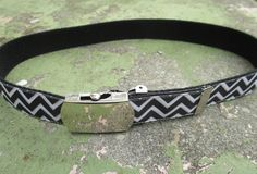 Black and White Chevron Kids Belts, Girls Belts for Girls, Chevron Belt, Toddler Belt, Belts for Kids, Childrens Belts, Adjustable Kids Belt by CeciliaAnnDesigns on Etsy