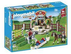 Jeu de construction PLAYMOBIL (2013)  5224 - Piste d'obstacles hippiques