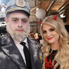 """davidfynnn: """"Dead captain and dead talented. Amazing guest @meghan_trainor absolutely stole  the show on @nbcundateable . #undateablelive"""""""