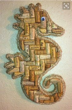Wine Cork Seahorse Craft
