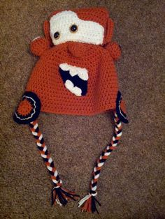 Tow Mater Hat - KNITTING