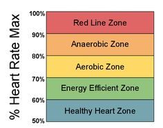 Training Zones Heart Rates (Interval Training) - how to burn calories even when you are not working out. WOW!