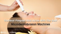Creams seldom do a good job of exfoliating the dead skin cells that produce pimples and acne. Face washes, too, are largely ineffective. Fortunately, there are exfoliating machines you can use for home microdermabrasion.Such a microdermabrasion machine can save you a lot of money that you would otherwise spend on face washes and creams that have little to no actual effect. #MicrodermabrasionMachines #Acne #Skincare #Beauty #FixYourSkin #Cosmetics
