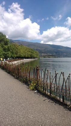 Pamvotida Lake | Ioannina Greece Beautiful Islands, Beautiful Places, Travel Around The World, Around The Worlds, Santorini Villas, Myconos, Places In Greece, Future Travel, Greece Travel