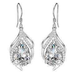 EleQueen 925 Sterling Silver Cubic Zirconia Teardrop of Angel Bridal Jewelry EleQueen Sterling Zirconia Teardrop Jewelry is one of the hot selling items in Jewelry category in Canada. Click below to see its Availability and Price in YOUR country.