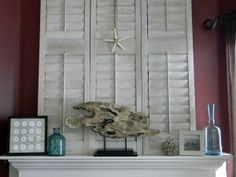 Summer Mantel - Organize and Decorate Everything
