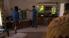 "Burn Notice 4x13 ""Eyes Open"" - Michael Westen (Jeffrey Donovan) & Alicia Renson (Tina Casciani)"